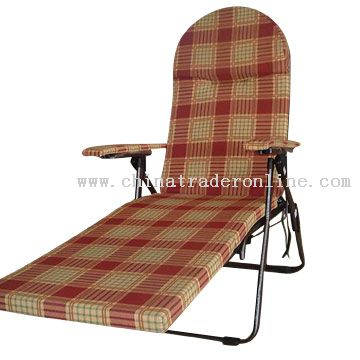 5 Position Foldable Cushion Lounge