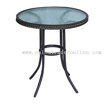 Aluminum-Glass Table from China