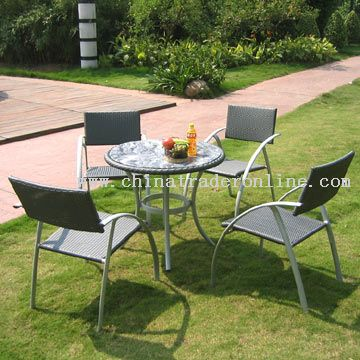 Chair and Table Set from China