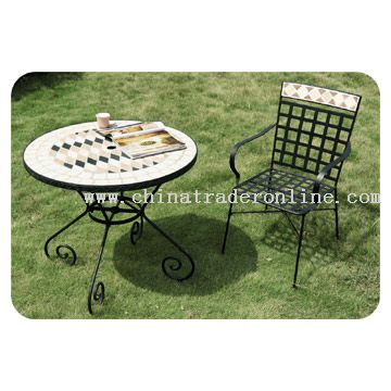 Mosaic Garden Furniture from China