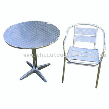 Table and Chair from China
