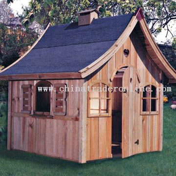 Childrens Wooden House for Playing