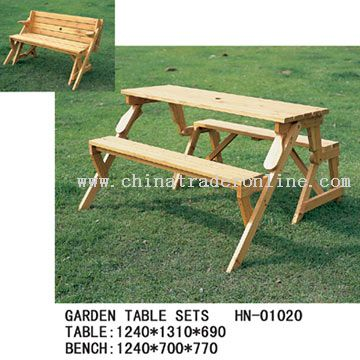 Garden Table Sets