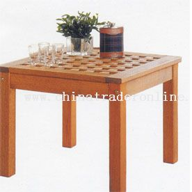 Outdoor wooden furniture from China