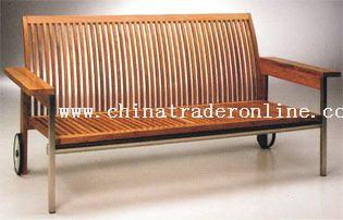 Outdoor Wooden Long Chair