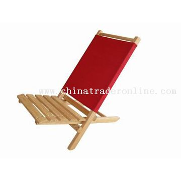 Rubber Wood Deck Chair