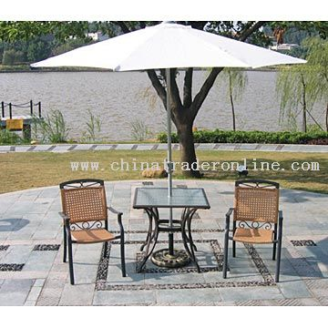 Aluminum-Rattan Furniture from China