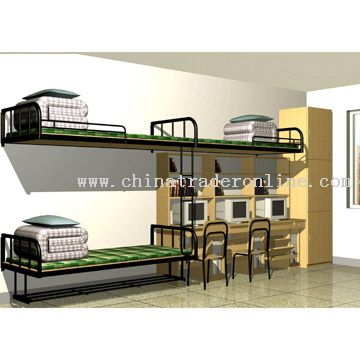 Superb Dormitory Furniture Set From China