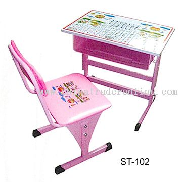 Kids Adjustable Desk and Chair