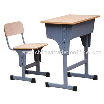 Lift Desk and Chair
