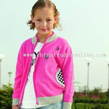 Children Cardigan Sweater