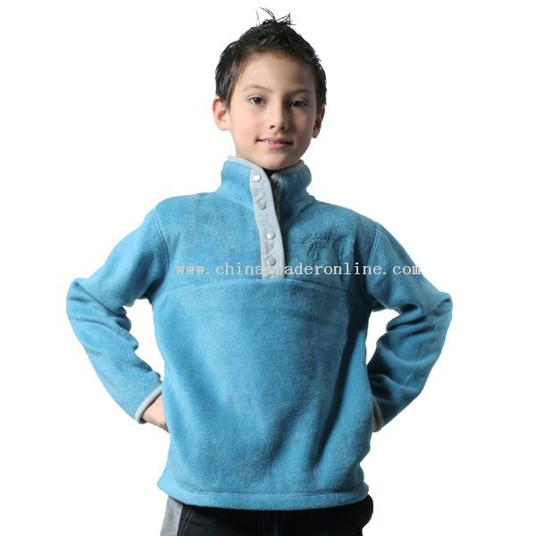 Childrens Embroidered Pullover