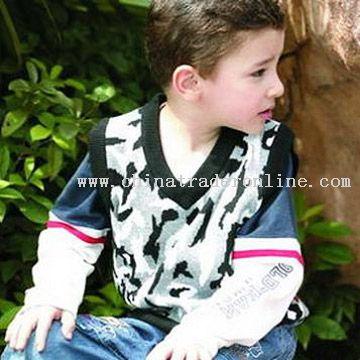 Children Sleeveless Sweater