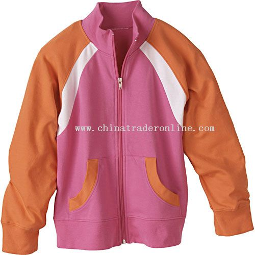 Girls Color Blocked Cheer Jacket