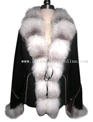 Ladies Lamb Suede Jacket from China