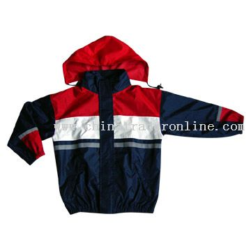 Nylon/PU Breathable Jacket