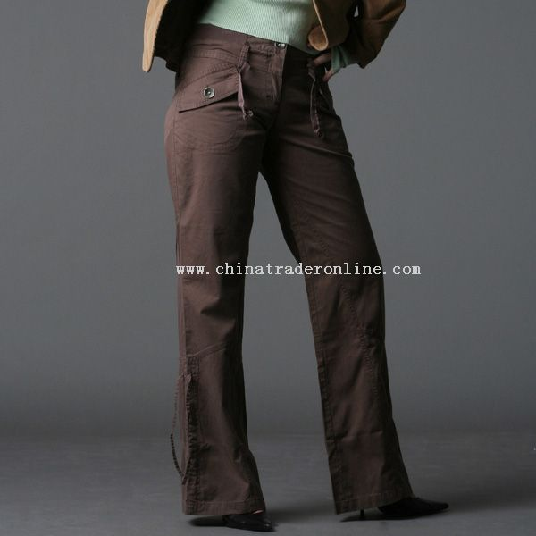 100% Cotton Twill Pants