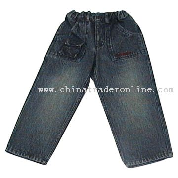 Ring Slub Stretch Denim Pants