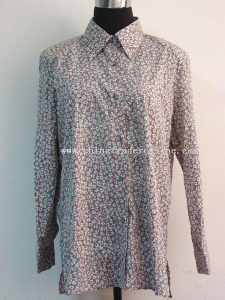 Ladies Printing Blouse from China