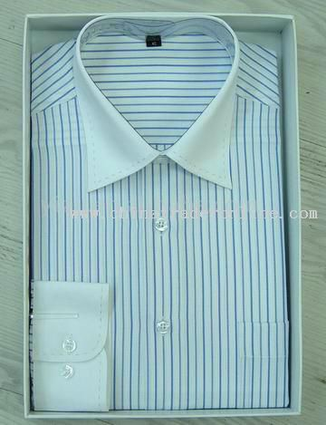 Mens Long Sleeve Cotton Shirt from China