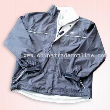 Golf Jacket with Mesh Lining