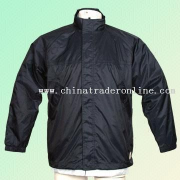 Waterproof Nylon PU Golf Apparel
