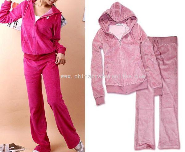 Velvet Training Wear from China