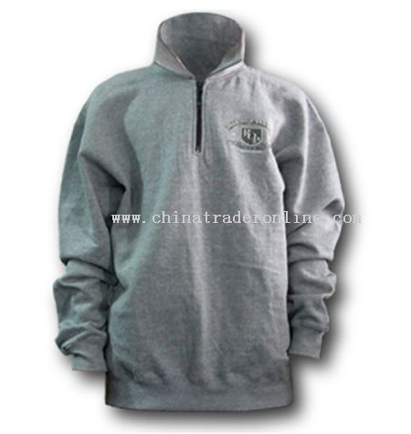 Half Zipper Sweat Shirt