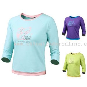 CORAL QUICK-DRYING T-SHIRT
