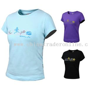 ELUO COTTON T-SHIRT from China