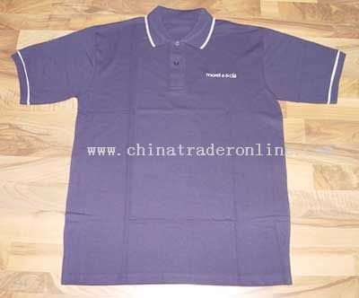 Embroidery polo T-shirt