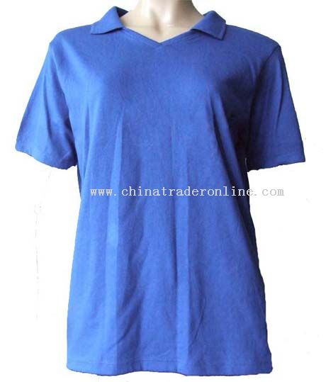 Ladies polo shirt from China