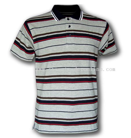 Yarn Dyeing Pique Polo from China