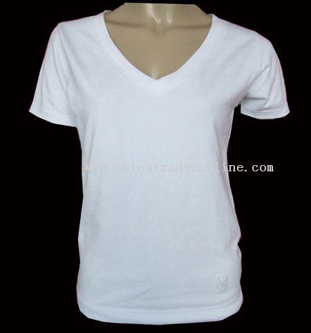 Ladies V-neck T-shirts