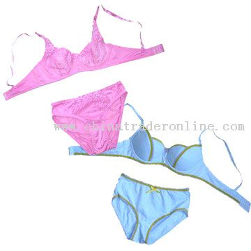 Bra and Panties Set from China