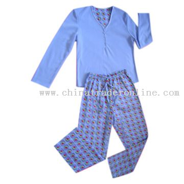 Flannel Pajamas Set