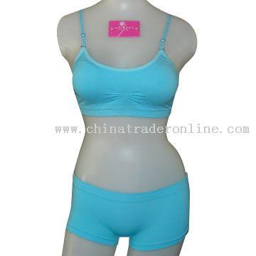 Seamless Underwear Set