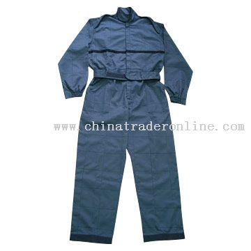 Quilted Coverall Workwear