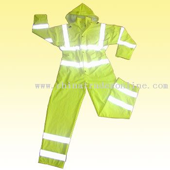 Stretchable PU Knitted Coverall