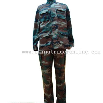 Military Uniform of Angola