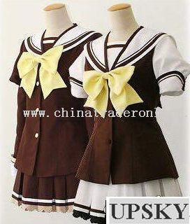 Pretty School Girl Sailor Uniform