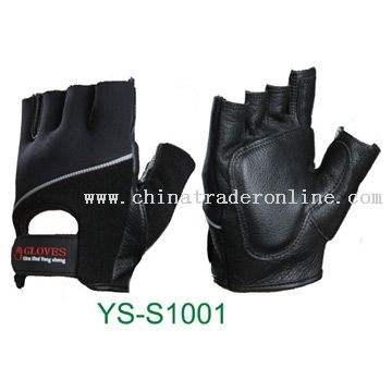 Sports Gloves (Half-Finger) from China
