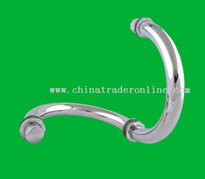 Stainless steel pull handle back to back fix