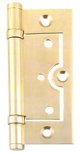 2 ballbearing  brass flush  hinge