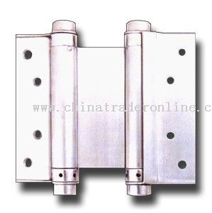 double action spring stainless steel hinge