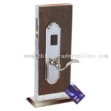 Inductive Card Lock
