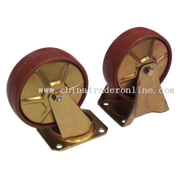 5 inch Rigid and Swivel Casters