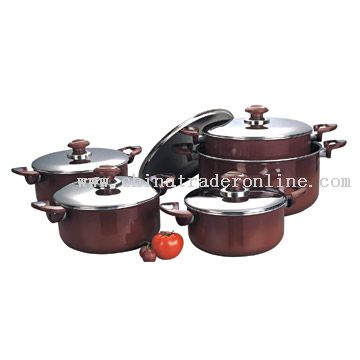 12pc Cookware Set