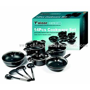 14pcs Non-Stick Cookware Set
