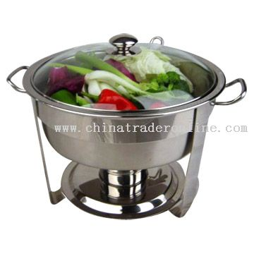 4qt S/S Round Chafing Dish